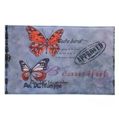 Artistic Butterfly Mat
