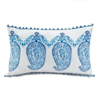 Tasseled Lumbar Pillow