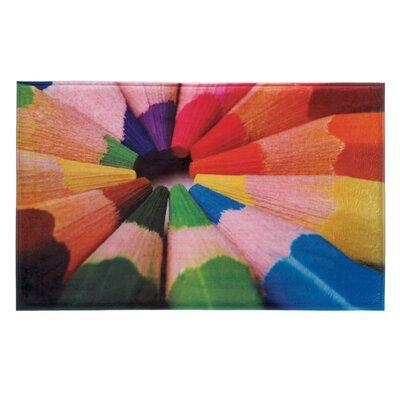 Color Pencils Floor Mat
