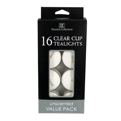 Unscented Tea Light Candle 10016507