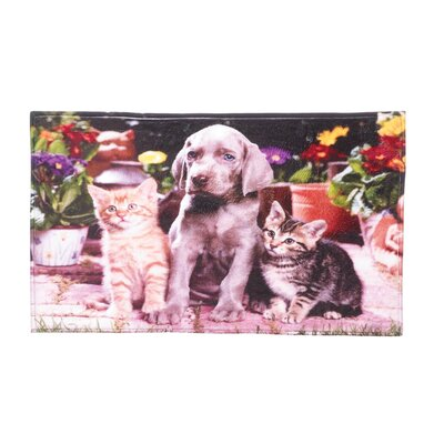 Dogs and Cats Floor Mat