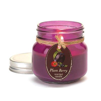 Mason Plum Berry Jar Candle 10016255