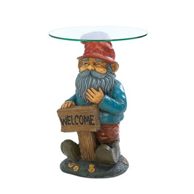 Garden Gnome End Table