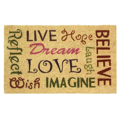 Live Love Laugh Entry Way Doormat