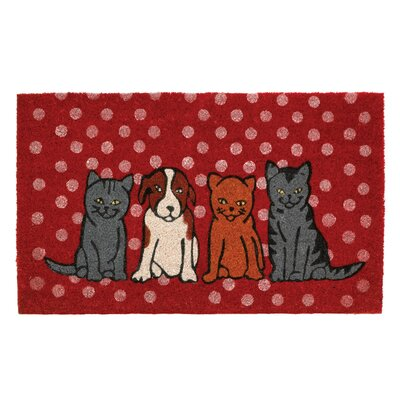 Dogs and Cats Welcome Doormat