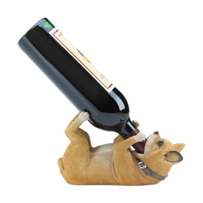 Chihuahua 1 Bottle Tabletop Wine Rack