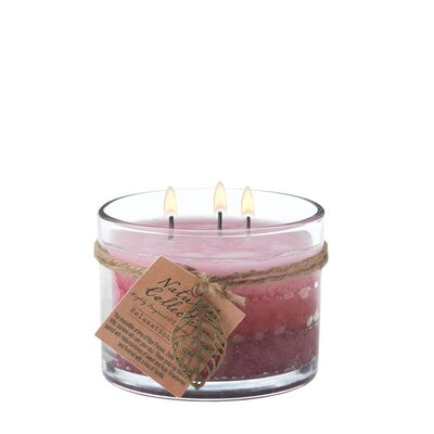 Relaxation Glass Scented Jar Candle 12010167