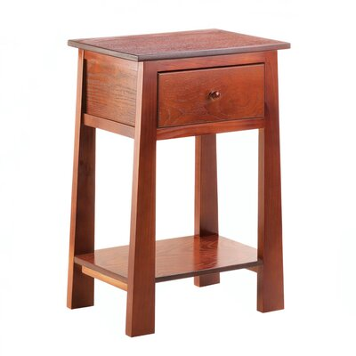 Contemporary Craftsman End Table
