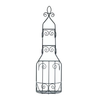 Multi-Purpose 2 Bottle Wall Mounted Wine Rack