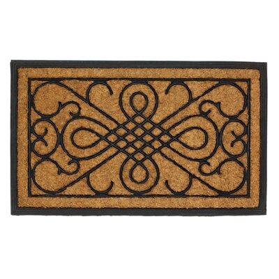Scrollwork Doormat