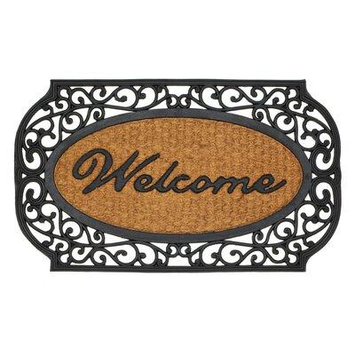 Frill Welcome Doormat