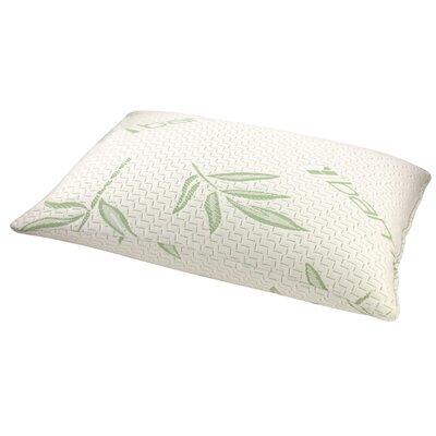 Rayon from Bamboo Memory Foam Fiber Standard Pillow