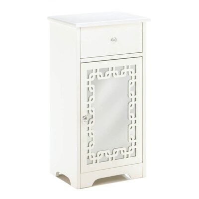 Ankita Decorative Mirror End Table