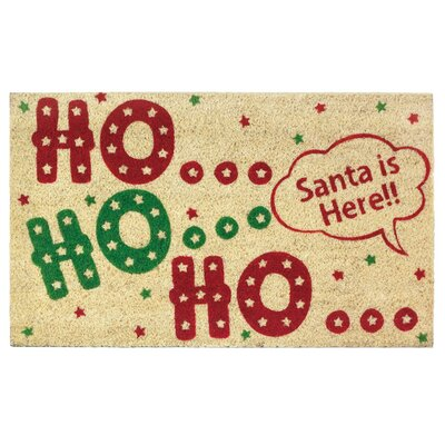 Ho Ho Ho Welcome Doormat