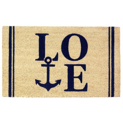 Tulane Coastal Love Doormat