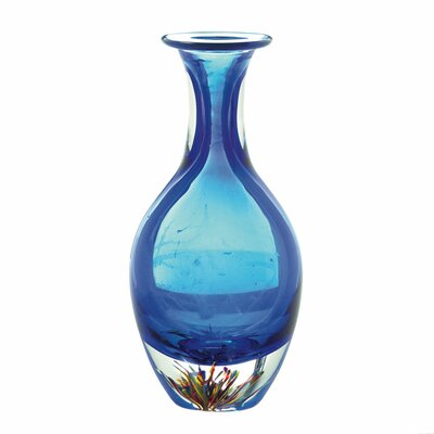 Ryals Glass Bottleneck Table Vase