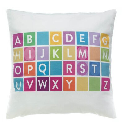 Hawkes Alphabet Decorative Throw Pillow