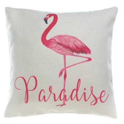 Windermere Flamingo Paradise Decorative Throw Pillow