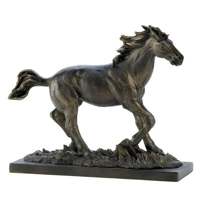 Bronzed Wild Horse Statue THPS8740 39870767