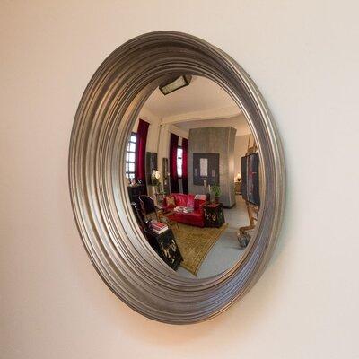 Lola 46 Convex Wall Mirror Finish: Pewter