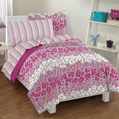 Safari Girl Bed Set Size: Twin