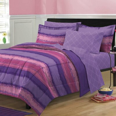 Tie Dye Bed-In-A-Bag Set Size: Twin Extra Long