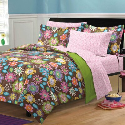 Boho Garden Bed-In-A-Bag Set Size: Twin Extra Long