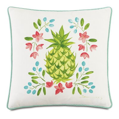 Tropical Gourmet Welcome Down Throw Pillow