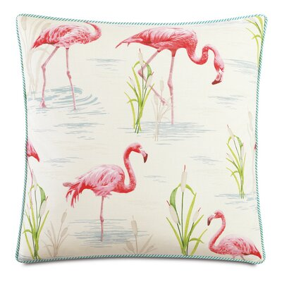 Tropical Twiggy Down Throw Pillow