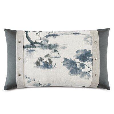 Modern Asian Serene Down Throw Pillow