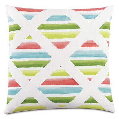 Tropical Surf and Sand Down Throw Pillow