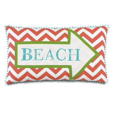 Tropical Sandy Shores Down Throw Pillow