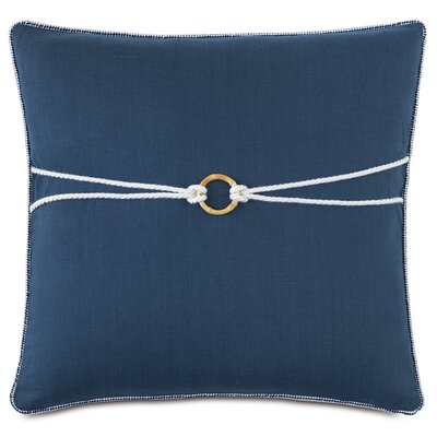 Nautical Bamboo Knot Down Throw Pillow