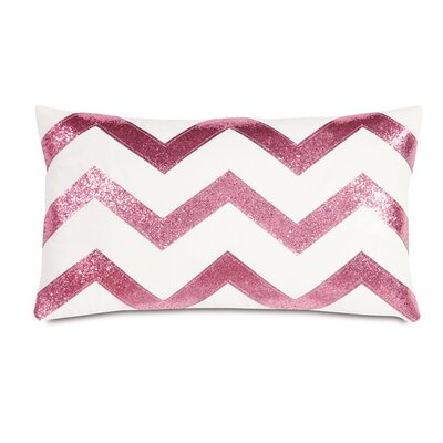 Epic Preppy Sparkle chevron Down Throw Pillow