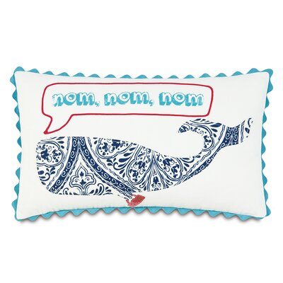 Epic Preppy Nom, Nom, Nom Down Throw Pillow