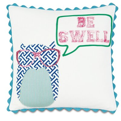 Epic Preppy Be Swell Down Throw Pillow