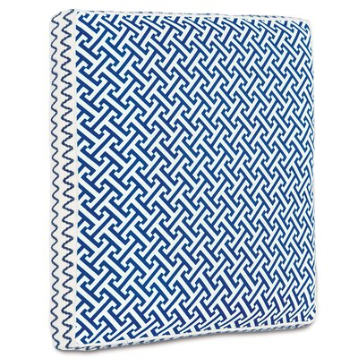 Epic Preppy Chive Boxed Down Throw Pillow