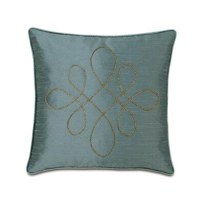 Monet Edris Mineral Scroll Down Throw Pillow