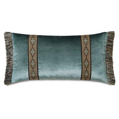 Monet Velda Ocean Border Down Throw Pillow