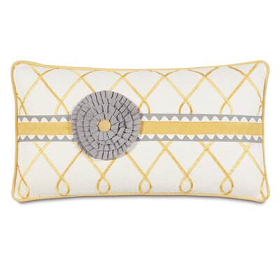 Epic Sunshine Terrace Rosette Down Throw Pillow