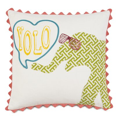 Epic Splash Yolo Down Throw Pillow
