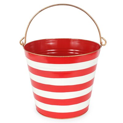 Horizontal Stripe Pail P12-RE-PAIL1