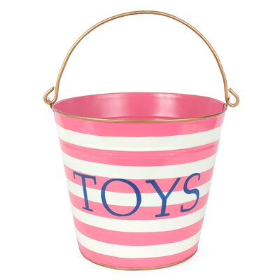 Horizontal Stripes Toys Pail T69-PK-PAIL1