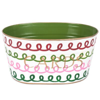 Holiday Squiggle Cards Tub