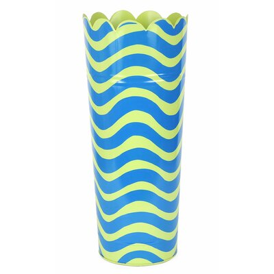 Free Standing Umbrella Stand Color: Green/Blue