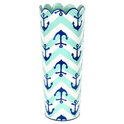 Free Standing Umbrella Stand Color: Blue