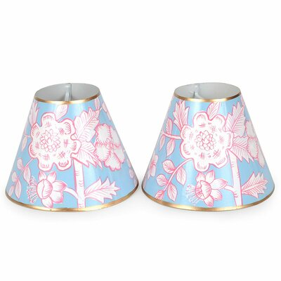 Floral 5.3 Metal Bell Lamp Shade
