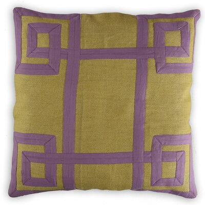Roubaix Greek Key Linen/Cotton Throw Pillow