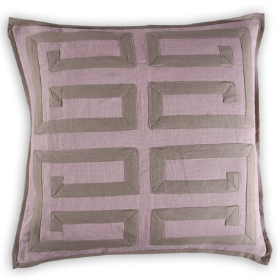 Tonnerre Greek Key Linen/Cotton Throw Pillow