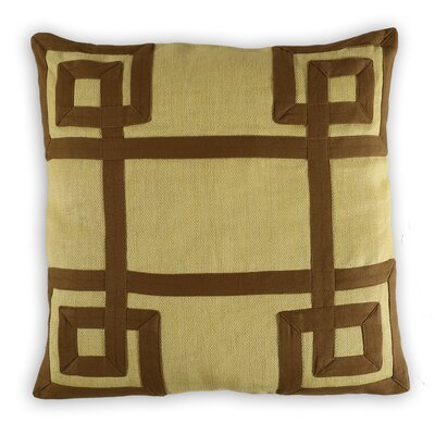 Bar-le-Duc Greek key Linen/Cotton Throw Pillow